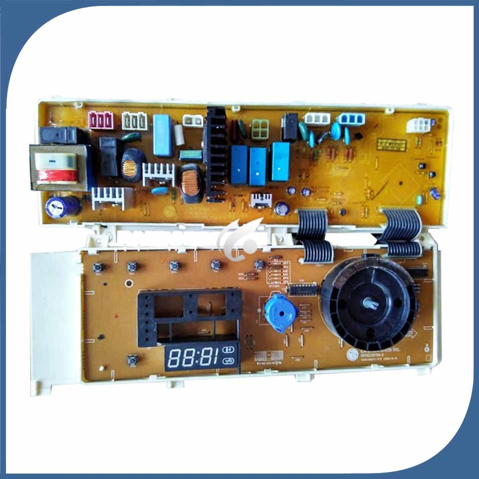 100% testé pour machine à laver utilisé de contrôle du conseil d'administration WD-80180N WD-80185N 6870EC9070A-0 6871EC1064H Ordinateur de bord utilisé