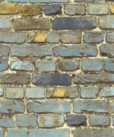 HaokHome Brick Wallpaper Rolls Blue Yellow Brown Black Distressed Murals Home Kitchen Bathroom Decoration 20 8