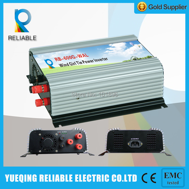 600W Grid Tie Inverter,wind inverter (RB-600G-WAL)wind grid tie inverter