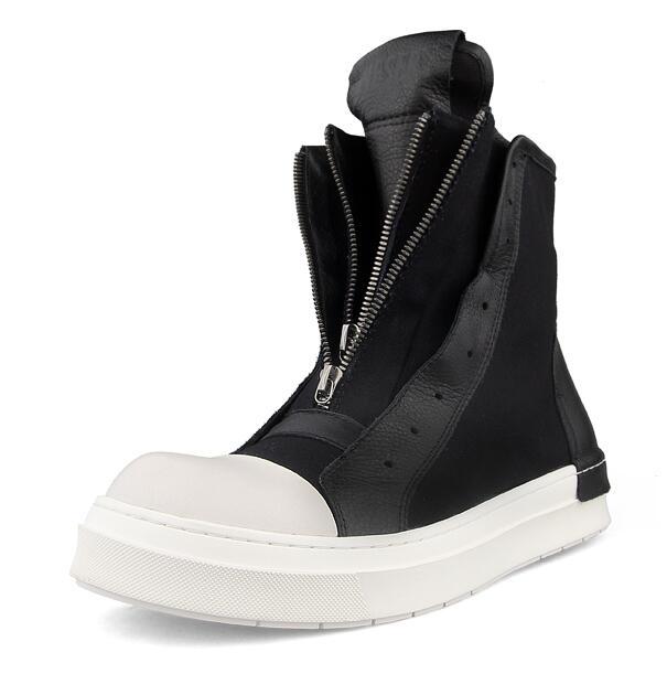 Men Shoes Casual Shoes Men Sneakers  Zapatillas Fashion High-top Basket Homme Trend Joker Comfortable Shoes  Black Red White