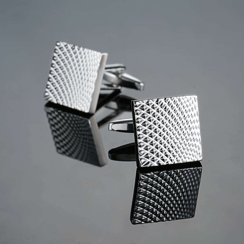 Novelty cuff links stainless steel Old craftsman hand Laser engraving cufflinks mans French suit accessories Jewellery