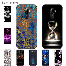 цена на I am alone Phone Cases For Oukitel U18 5.85 inch Solf TPU Fashion Cute Color Paint Mobile For Oukitel U18 Bags Shipping Free