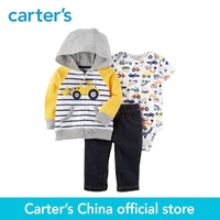 Carter S 3 Piece Baby Children Kids Clothing Boy Spring Fall Embroidered Construction Truck Little Jacket