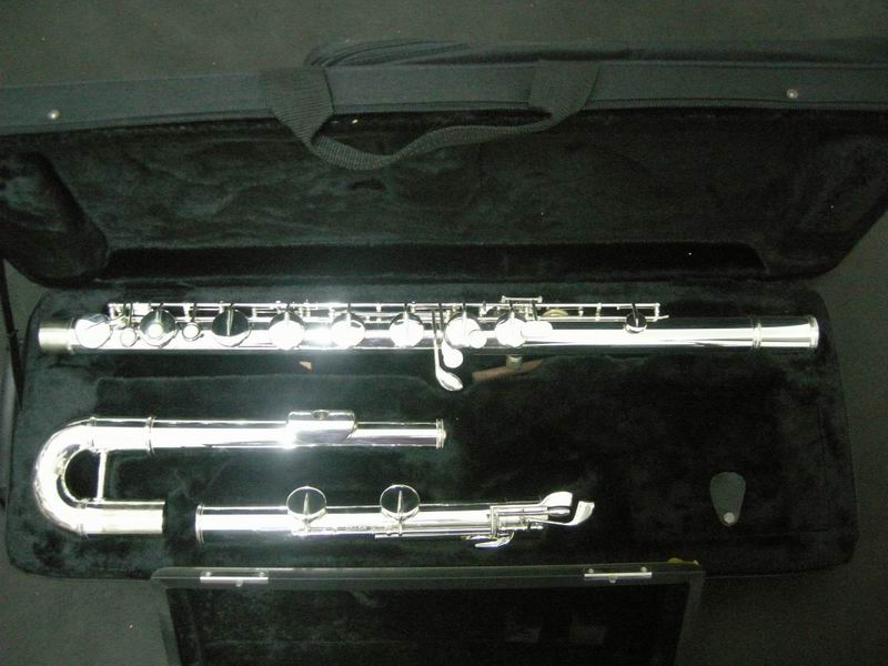 Wholesale  - Sliver Great bigger tenor bass flute instruments A+++2010 wholesale