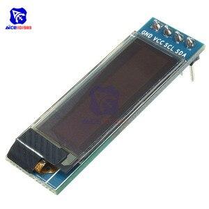 """0,91 дюймовый 128x32 12832 интерфейс I2C IIC Серийный белый OLED дисплей модуль 0,91 """"12832 SSD1306 светодиодный экран для Arduino"""