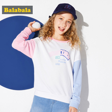 Balabala children's hoodies for girls children clothes girls sweatshirt girl kids clothing long sleeved sport tops for girls