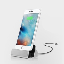 For iPhone 8 7 6 X USB Cable Sync Cradle Charger Base For iPhone X XR XS Max 6 8 7 Plus 5 SE 5s Charging Base Dock Station Stand
