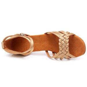 Image 3 - New Latin Dance Shoes for Women Girls Ladies Ballroom tango salsa Professional dance Shoes for women dancing shoes Wholesale
