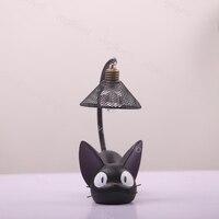 Vogliovoi Night Light Cartoon Cat Animal Table Lamp Lovely Cute Ornaments Children Kid Bedside Reading Table Night LED Lighting