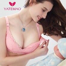 YATEMAO כותנה חזיות הנקה ליולדות בהריון הנקת הריון נשים חזיית soutien ערוץ allaitement