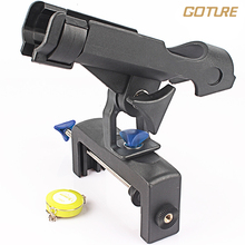 Goture Fishing Rod Holder ABS Black Boat Rod Holders Portable Boat Casting Spinning Fishing Rod Holder For Carp Tackle Pesca