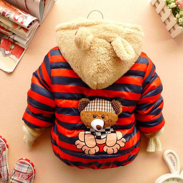 Outwear Baby Cartoon Warm Coat