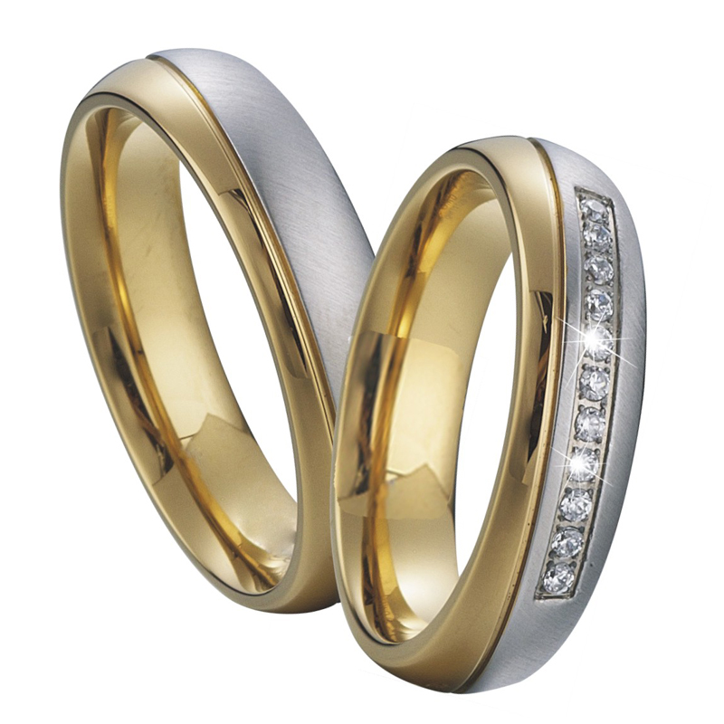 gold and silver wedding rings Wedding Decor Ideas