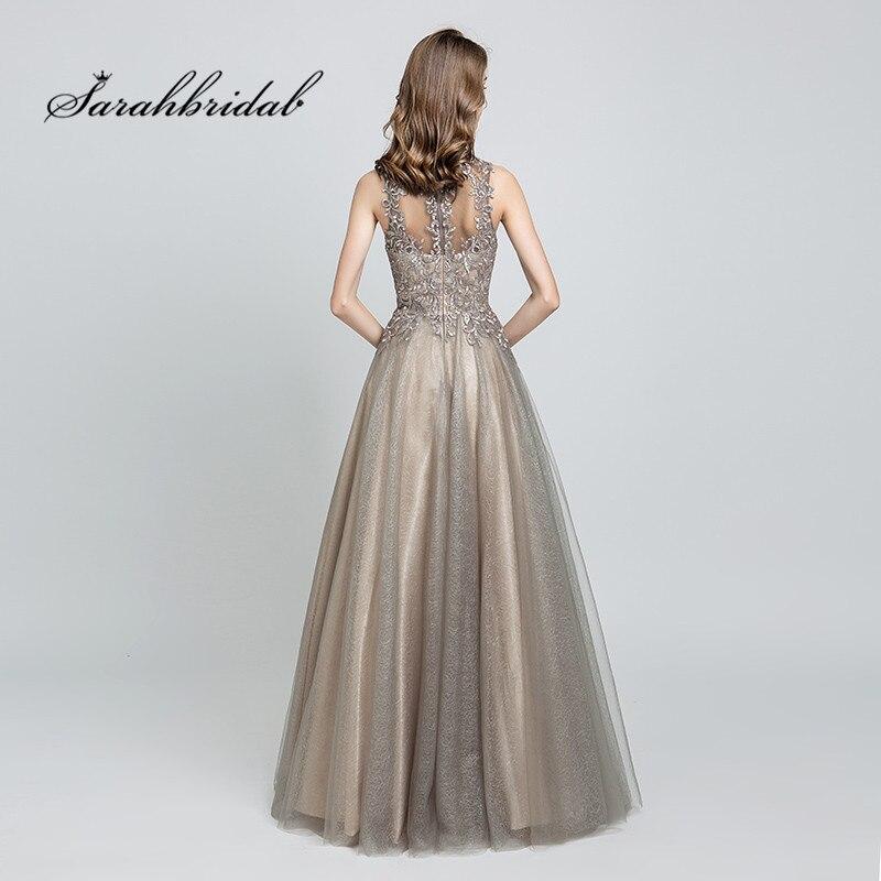 Mocha Evening Dress