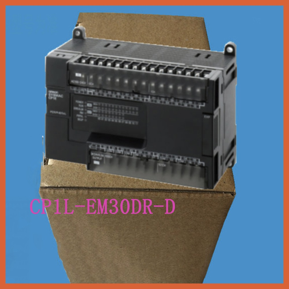 Programmable Logic controller CP1L-EM30DR-D OMRON PLC controller input 18 point relay output 12 point new plc programmable logic controller module pwm stepper motor driver relay board sm536 sd