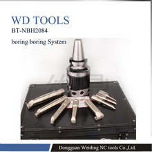 Boring-Head BT50-NBH2084 Precision-Boring-System 8pcs 1pc