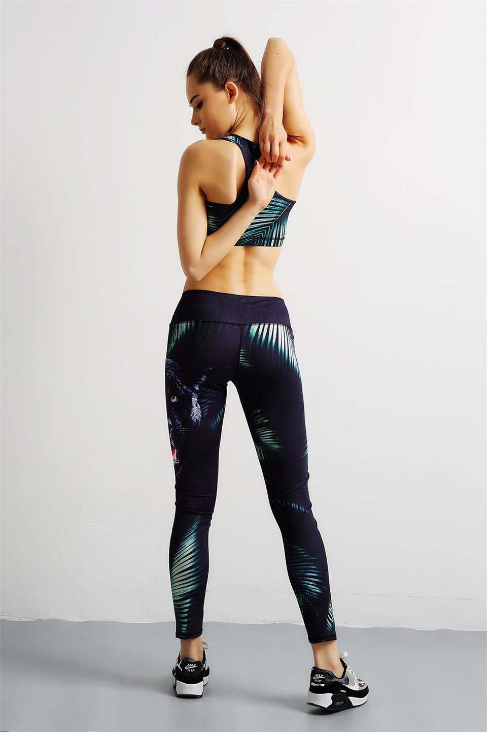 SSMENG Womens 2021 Trendy Mountain Landscape Painting Print Pocket Athletic Pants Sports Hip Hop Yoga Dance Trousers