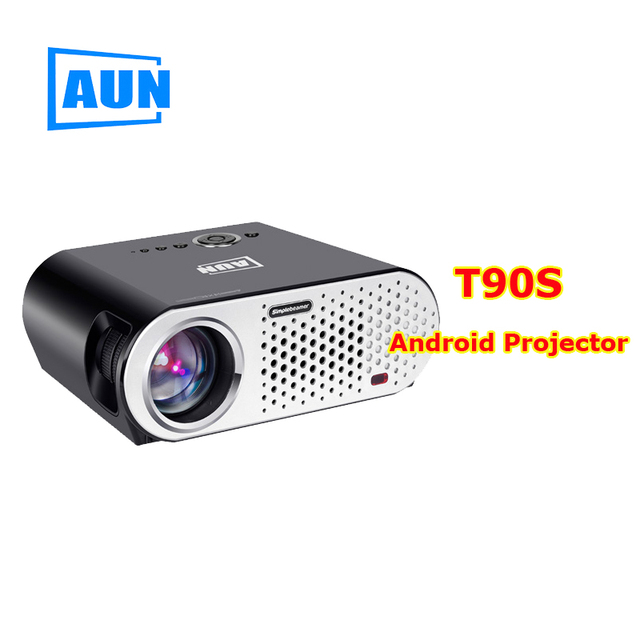 proyector Full HD tv led 3D Projector Home Theater cinema data show Support 1080p android Wifi system bluetooth Beamer