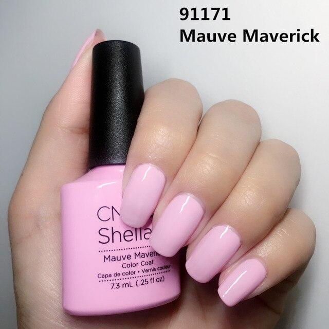 2018 New 110 Color CND Shellac UV Gel nail Polish Long lasting Soak ...