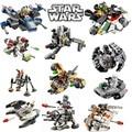 Star Wars Rogue Uno Figuras Ladrillos lepin EMPATE Avanzado de combate Prototipo X-wing Classic Building Blocks juguetes Para Niños de Regalo