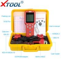 XTOOL X100 Pro OBD2 Auto Key Programmer Mileage adjustment Including EEPROM Car Code Reader Free Update OBD II Diagnostic tool