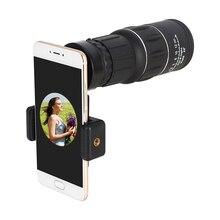 AOMEKIE 16X52 Монокуляр с держателем для мобильного телефона Высокая мощность путешествия охота наблюдение за птицами телескоп Зрительная труба двойной фокусировки
