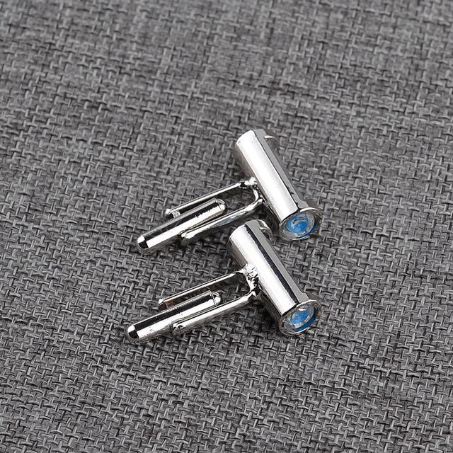 Creative Generous Wild Men's Shirts Simple Stylish Hourglass Cufflinks