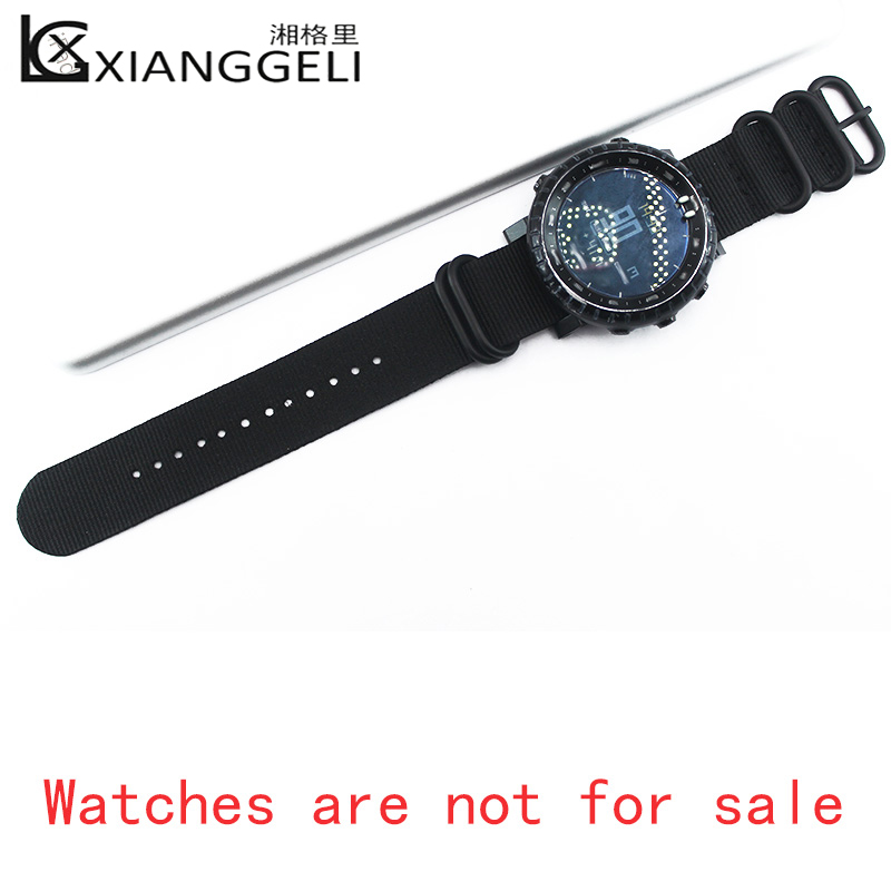Купить с кэшбэком Nylon strap with connector 24mm for Suunto Core Watch accessories outdoor sports men's and women's strap