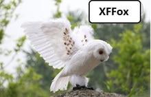 купить new lifelike owl model foam&furs wings simulation owl doll gift about 30x50cm xf0479 дешево