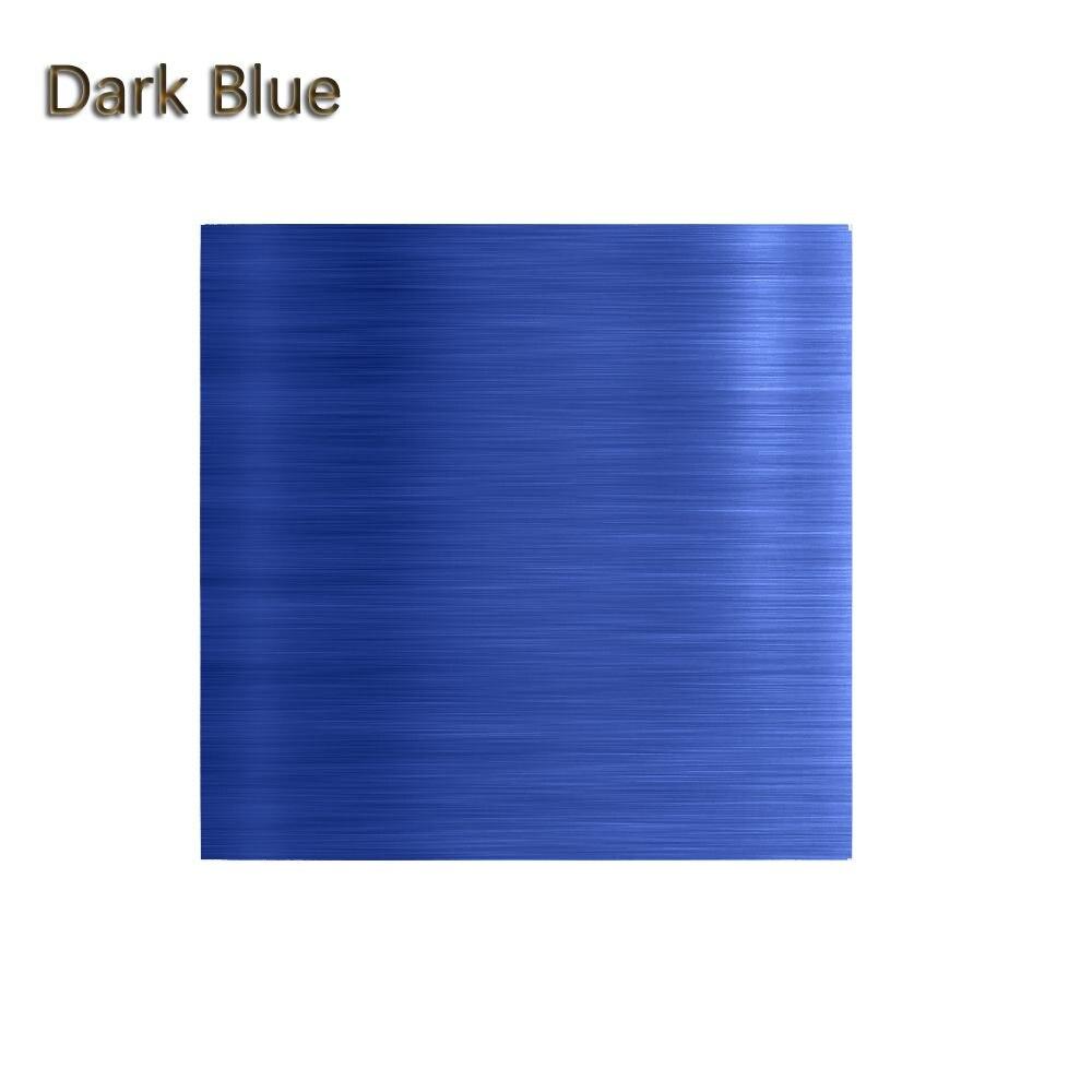 """100 шт./компл. 3,1"""" x 3,15"""" Мути-цвет 8011 еда алюминиевая фольга DIY шоколадные конфеты пакет бумаги 10 цветов - Цвет: Темно-синий"""