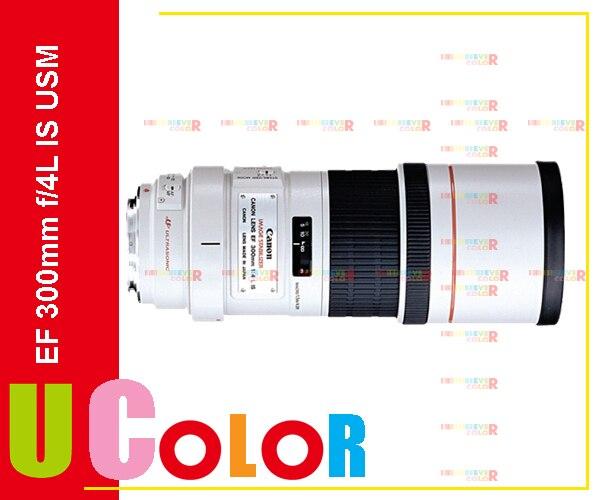 Original New Canon EF 300mm f/4L f4 L IS USM Telephoto Lens for 5D III 7D II 70D 760D 6D 1Dx metal camera tripod ring mount c wii for canon ef 70 300mm f 4 5 5 6l is usm lens