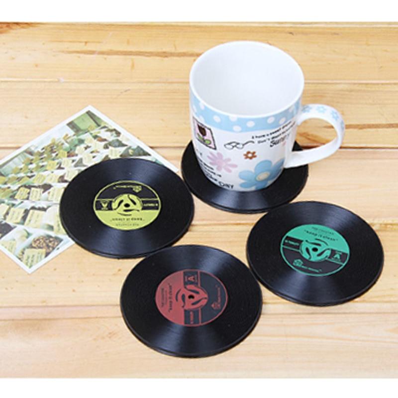 Image result for Retro Vinyl coasters