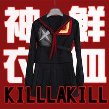 Nueva Matanza la Matanza Matoi Ryuko Senketsu Anime cosplay Traje a medida de halloween cosplay uniforme de marinero para las mujeres set