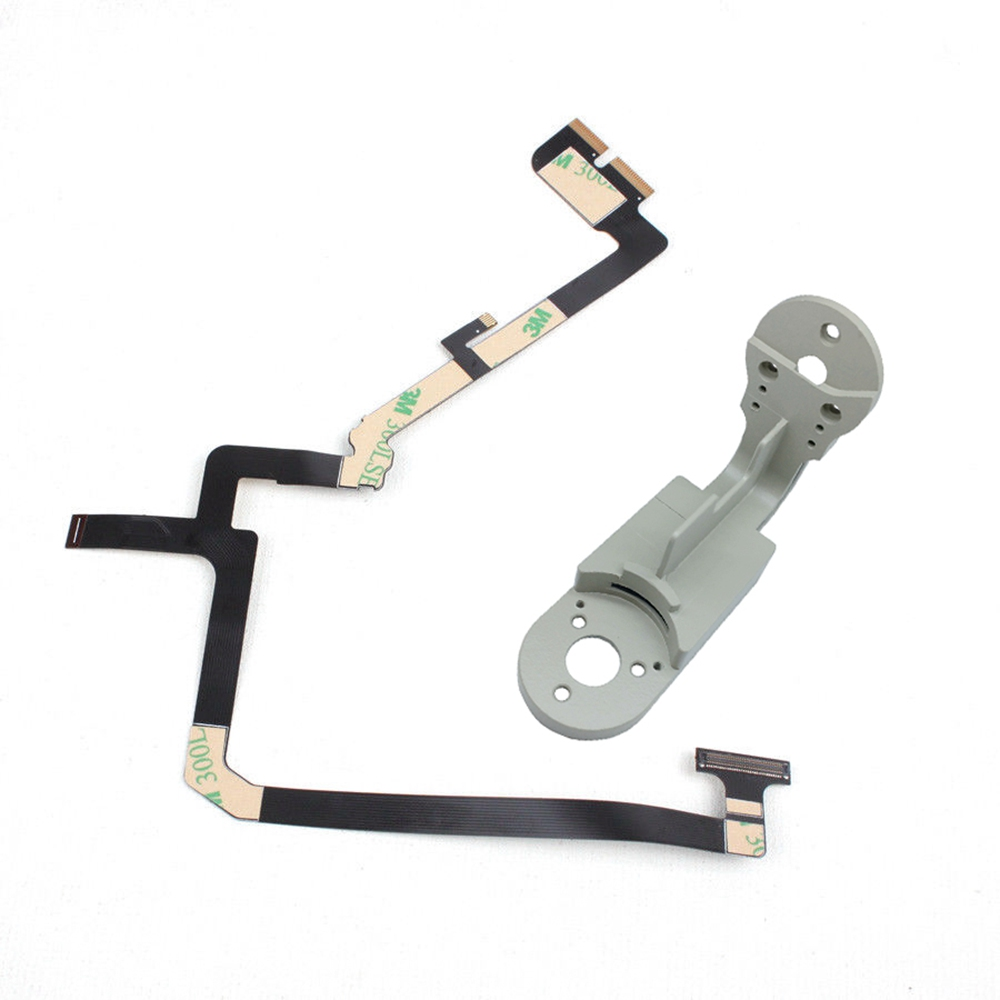 2 in 1 Ribbon Flat Cable Flex with Yaw Arm Bracket for DJI Phantom 4 Pro Drone Gimbal Camera Repairing Spare Parts Accessories аксессуары для акустики sonance lcr1 sur1 in wall flex bracket