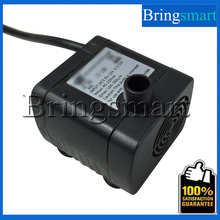 JT-180 Water Pump 350L/H Flow Rate 12V 24V DC Brushless Pump 2.2M Water Head Solar Submersible Fountain Pump Mini Pump
