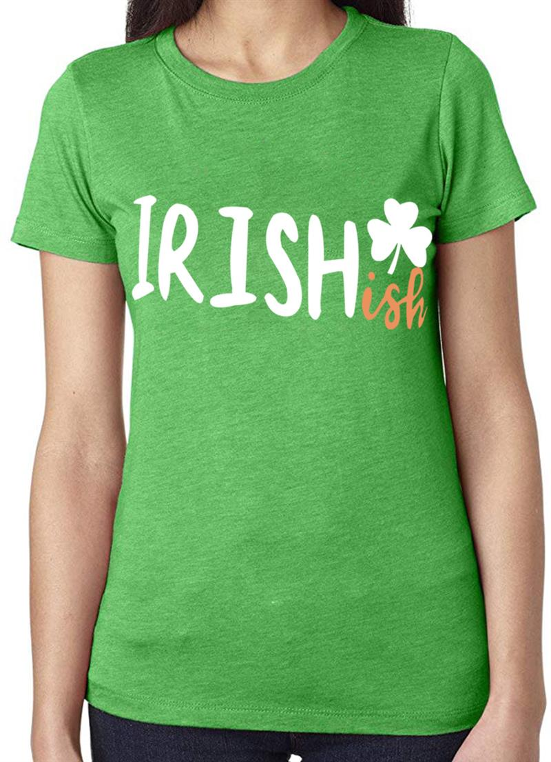 2019 New Summer Fashion St. Patrick'S Day Letter Printed T-Shirt Women Short Sleeve Casual Top Tees