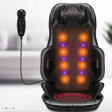 Masajeador de espalda eléctrico vibrador, Dispositivo de masaje Cervical, almohada multifuncional para cuello, de cuerpo completo para el hogar Sillón de masaje, sofá