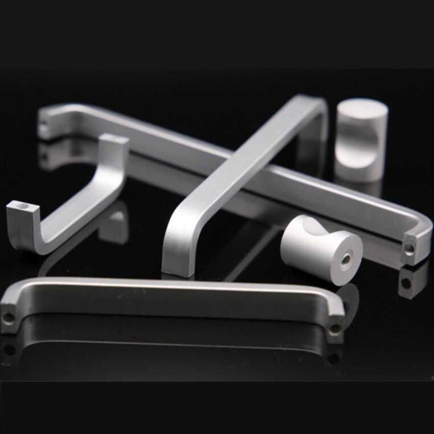 Door Handles Simple Drawer Pulls Wardrobe Closet Kitchen Cabinet Knobs and Handles for Furniture Handles and Knobs
