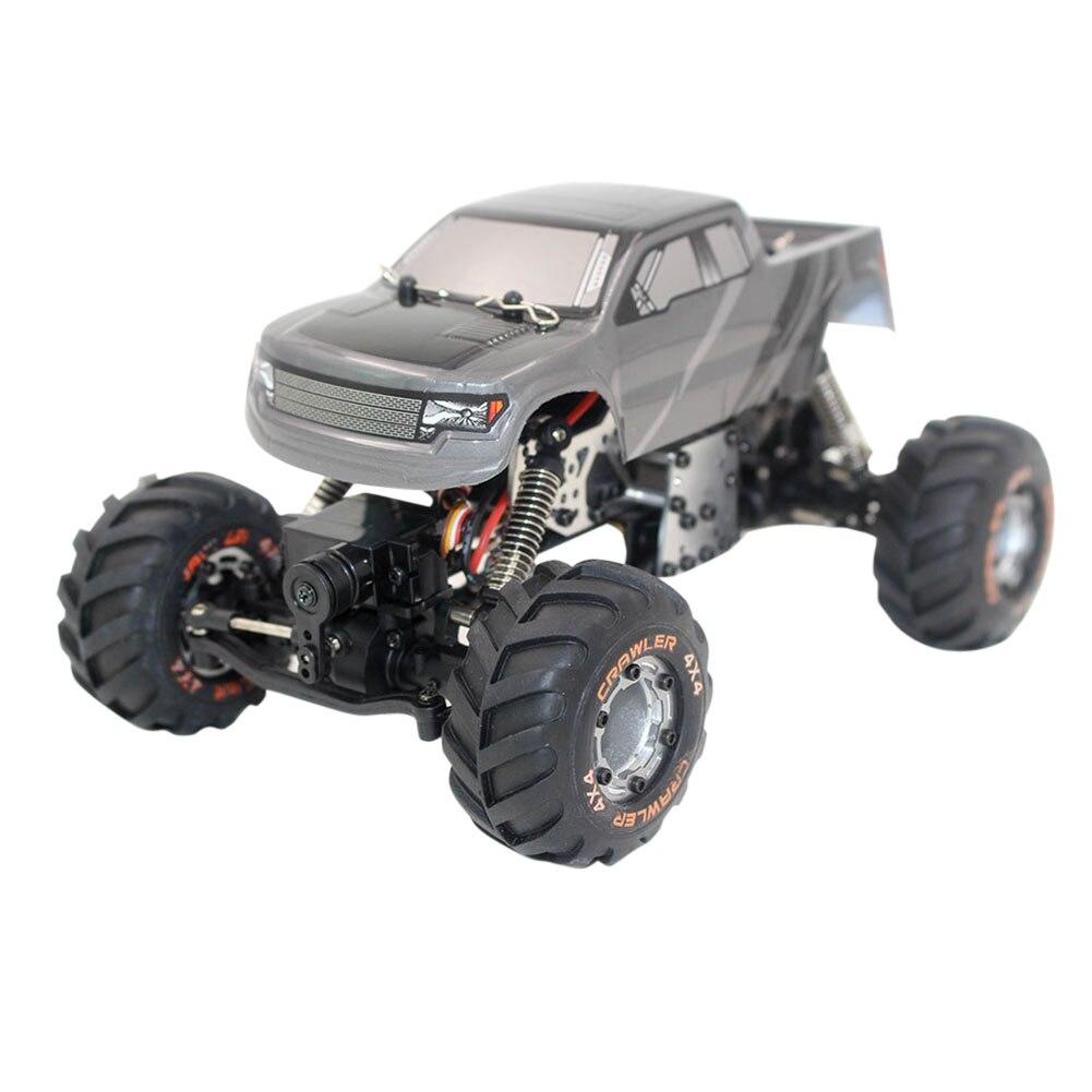 все цены на Original RC Car 2098B Car 2.4G 1/24 Scale RC Monster Truck Off-road Car Racing Car Climber Toy for Children онлайн