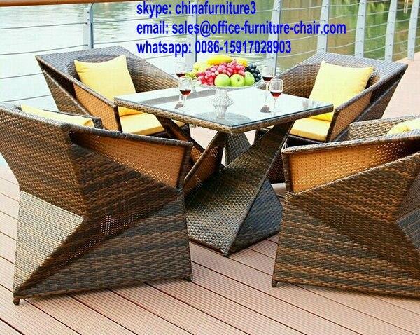 Con estilo , muebles de ratán jardín venta al por mayor del patio ...