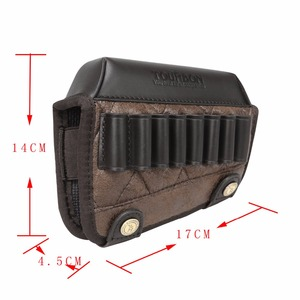 Image 5 - Tourbon Hunting Gun Buttstock Cheek Rest Riser Pad Rifle Cartridges .308win .30 06 .30 30 Ammo Holder Shooting Gun Accessorries
