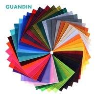 GuanDin, смешанный цвет Мягкий войлок/нетканый материал на основе полиэстера/мм толщина 1 мм/для DIY Швейные игрушки, ремесла куклы/42 шт. в упак./см...