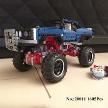 H & HXY 20011 1605 STÜCKE Super klassische limitierte auflage von geländewagen Modell bausteine Bricks Kompatibel 41999 spielzeug lepin