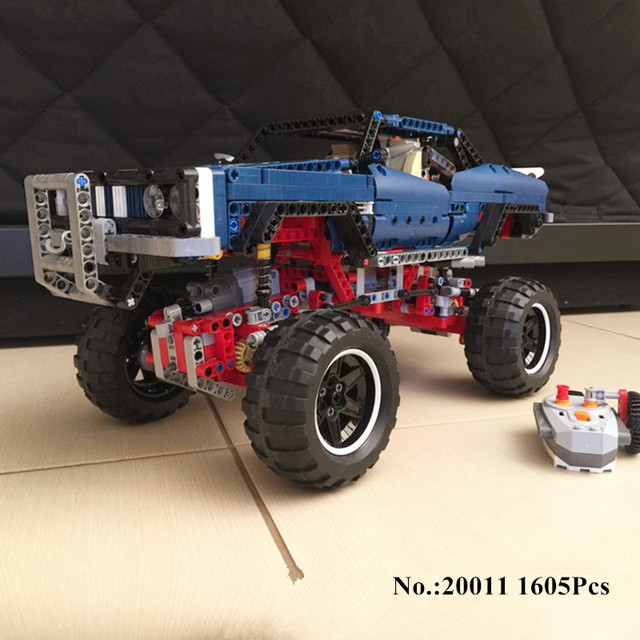 H&HXY 20011 1605 PCS Super classic limited edition of off-road vehicles Model Building blocks Bricks Compatible 41999 Toys lepin