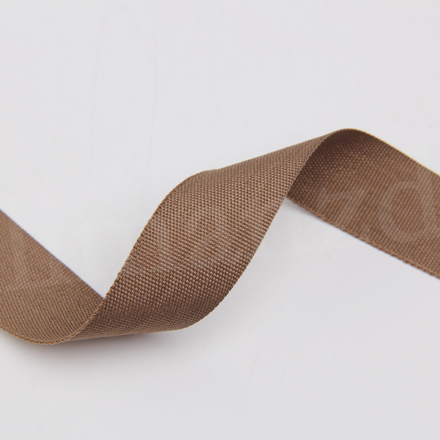 cheap polyester ribbon bias light brown color 2016 hot sale 100 yards/lot