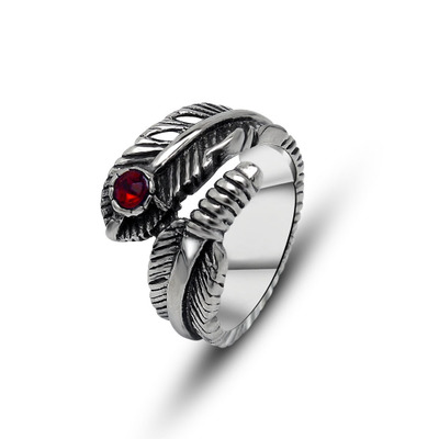 Newtection más como tuberías de anillo de moda hecho de acero inoxidable en gris para hombre y mujeres de belleza y joyas