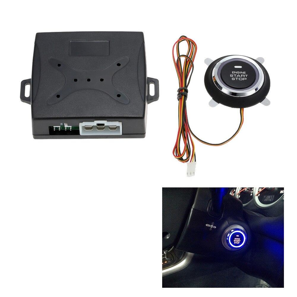 CHIZIYO Universal Auto Moteurs D'alarme De Voiture Starline Push Bouton Start Stop RFID Safe Lock Système D'entrée Sans Clé Smart Start
