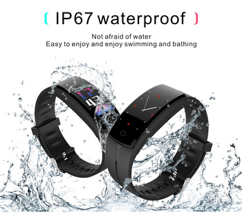 Abay QS100 Smart Bracelet Watch 24-Hour Blood Pressure Oxygen Heart Rate Monitoring Social Interactive Fitness Android IOS