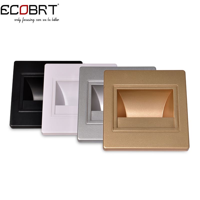 Aliexpress.com : Buy Modern Recessed Led Stair Lights New Square Led Wall  Lamps 100 240v 1.5w Wall Lights In Step Lights Indoor 5pcs/lot From  Reliable Led ...