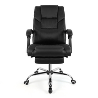 High Quality Office Chair Ergonomic Desk Chair Home Computer Gamer Silla Leather Lifte Reclining Swivel chaise For Rest Work HWC